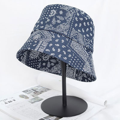 [UNISEX] BANDANA PAISLEY BUCKET HAT (2color)