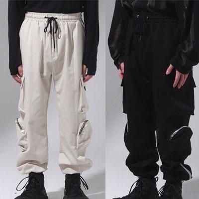 [UNISEX] 2TYPE POCKET PANTS (2color)