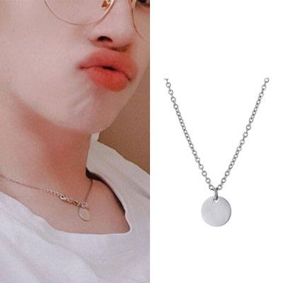[UNISEX] THE BOYZ st. BASIC PENDANT NECKLACE (3type)