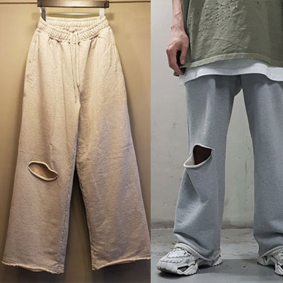 [UNISEX] ONE CUTTING WIDE JOGGER PANTS (3color)