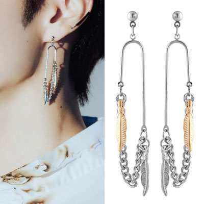 [UNISEX] THE BOYZ st. CLIP FEATHER PIERCE (3type)