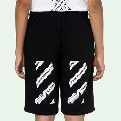 [UNISEX] BAGGAGE ARROW TAPE SHORTS (2color)