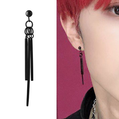 [UNISEX] ATEEZ/THE BOYZ st. UNBALANCE STICK DROP PIERCING (2color)