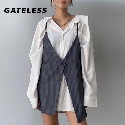 【GATELESS】LAYERED VEST (2color)
