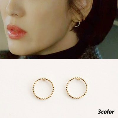 K-darama [Boyfriend] Song Hyekyo st. SIMPLE CIRCLE PIERCE (3color)