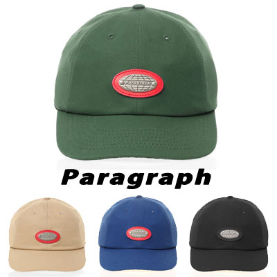 [Paragraph] LOGO BALL CAP (4color)