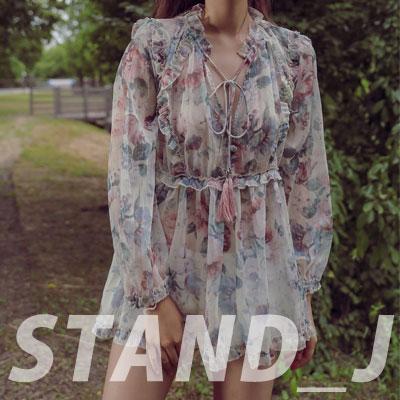 [STAND_J] RUFFLE BLOUSE (2size)