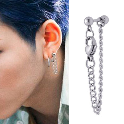 [UNISEX] ZICO st. CONNECT CHAIN PIERCE (3type)