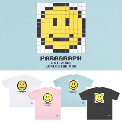 [Paragraph] CUBE SMILE TSHIRT (4color)