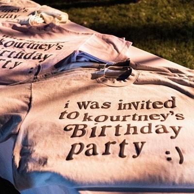 [UNISEX] INVITED PARTY TSHIRT :)