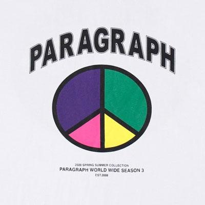 [Paragraph] COLOR PEACE TSHIRT (4color)