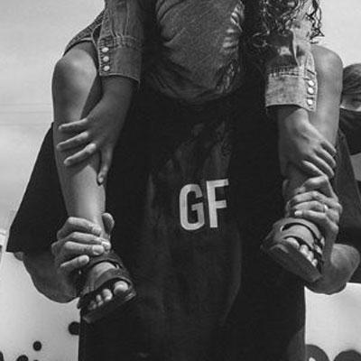 [UNISEX] FRONT GF TSHIRT (2color)
