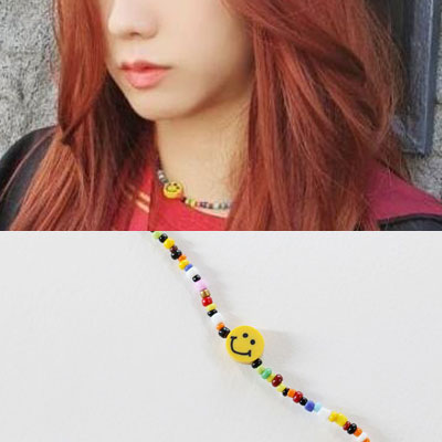 [UNISEX] BLACKPINK st. SMILE BEADS JEWELRY (3type)