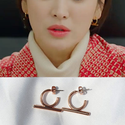 K-drama 'Encounter' Song Hyekyo st. RING STICK CUBIC PIERCE (3color)