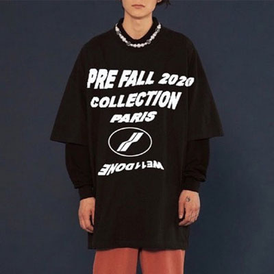 [UNISEX] PRE FALL COLLECTION TSHIRT (2color)