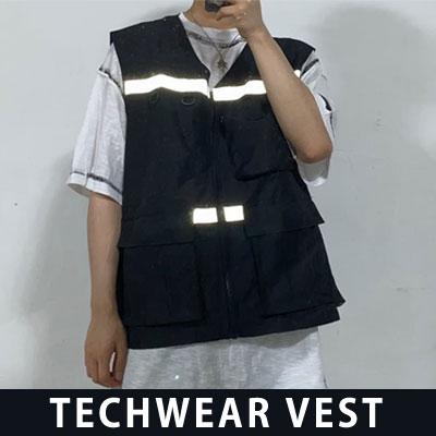 [UNISEX] TECHWEAR VEST (2color)