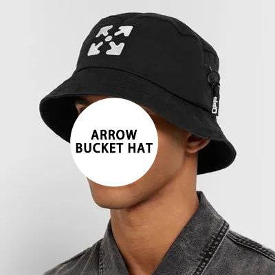 [UNISEX] ARROW ZIPPER BUCKET HAT