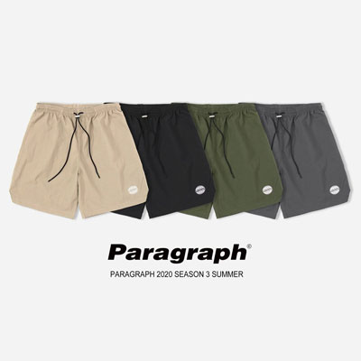 [Paragraph] EARTH EMBROIDERY SHORTS (4color)