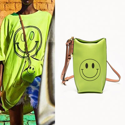 [UNISEX] SMILEY MINI BUCKET BAG