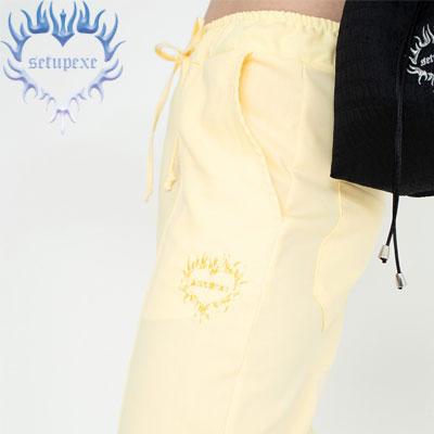 【SETUP-EXE】Pastel jogger Pt - yellow