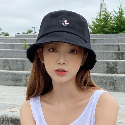 [UNISEX] MICKEY HEAD BUCKET HAT (3color)
