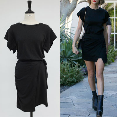 [STAND_J] Taylor Swift st. SIMPLE WRAP ONE-PIECE (2color)