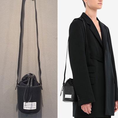 NUMBERING MINI BUCKET BAG (3color)