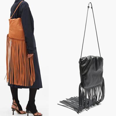FRINGE DROP POUCH BAG (2color)