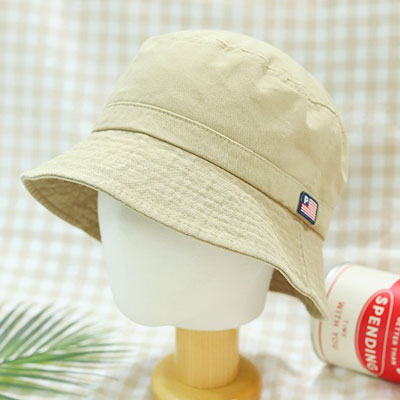 [UNISEX] AMERICAN TAG BUCKET HAT (4color)