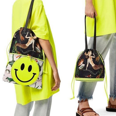 [UNISEX] SMILE CONVERTIBLE BAG