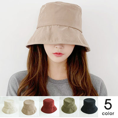 [UNISEX]AUTUMN BASIC BUCKET HAT(5color)