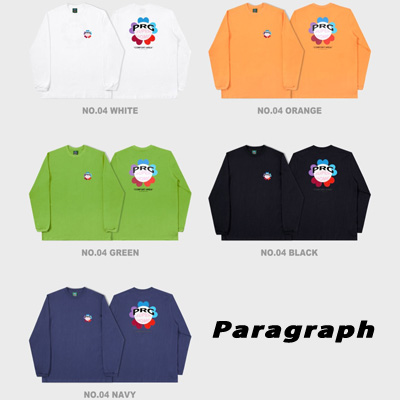 [Paragraph] PRG CLOVER LONG SLEEVE TSHIRT (5color)