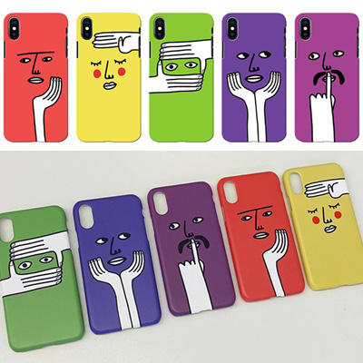 [UNISEX] PERSON FACE CASE (5color)