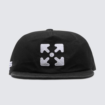 [UNISEX] EMBROIDERY ARROW BALL CAP