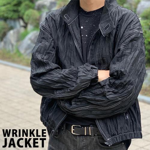 [UNISEX] WRINKLE JACKET (2color)
