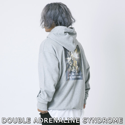 【2XADRENALINE】 PRM THE PRAYER HOODIE -grey