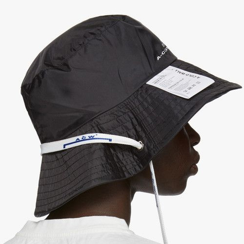 [UNISEX] CARE LABEL SHOELACE BUCKET HAT (2color)