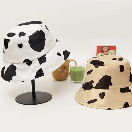 [UNISEX] MILK COW BUCKET HAT (2color)