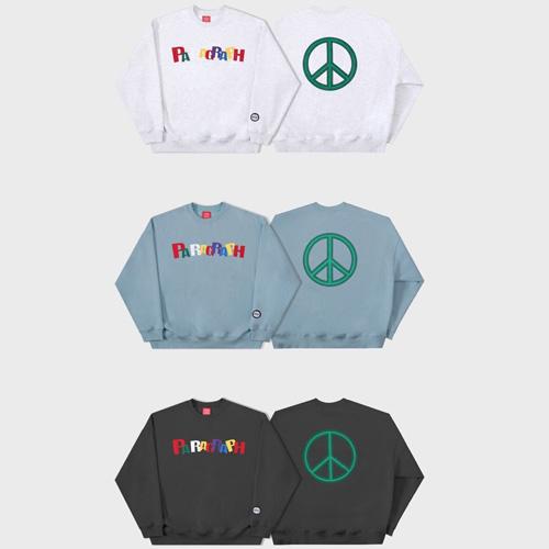 [Paragraph] PEACE SWEATSHIRTS (3color)