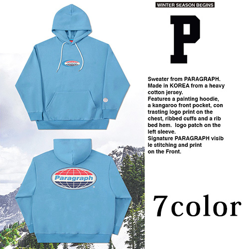 [Paragraph] NEW WORLD HOODIE (7color)