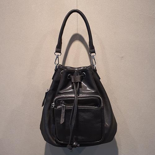 [UNISEX] SIMPLE BUCKET BAG (2color)