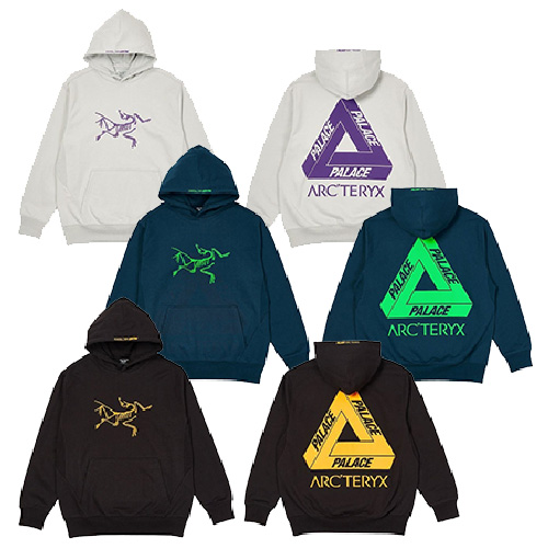 [UNISEX] TRIANGLE PRINT HOODIE (3color)